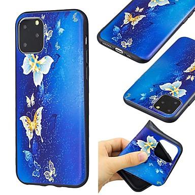 Недорогие Кейсы для iPhone 7-чехол для apple iphone 11 / iphone 11 pro / iphone 11 pro max ультратонкий / узор с задней крышкой бабочка тпу для iphone xs / x / xr / xs max / 7/8 plus / 6 / 6s plus / 5 / 5s / se