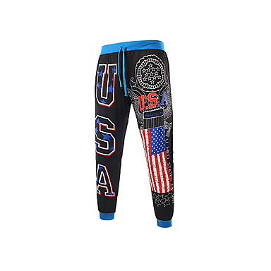 رخيصةأون بنطلونات الرياضة-رجالي أساسي بنطلونات بنطلون - لون سادة أسود رمادي فاتح أزرق البحرية US40 / UK40 / EU48 US42 / UK42 / EU50 US44 / UK44 / EU52