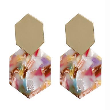 cheap Earrings-Women's Drop Earrings Earrings Geometrical Spike Simple Korean Fashion Earrings Jewelry Black / Brown / Light Brown For Daily Stage Street Holiday Work