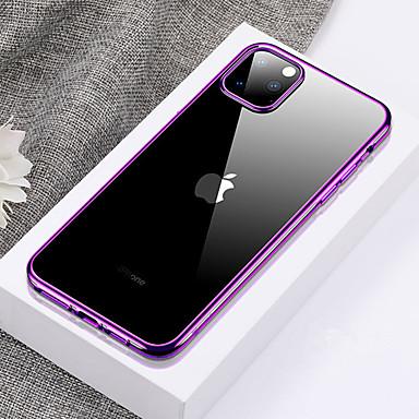 Недорогие Кейсы для iPhone-ультра-тонкий прозрачный чехол для телефона ТПУ для iphone 11 pro / iphone 11 / iphone 11 pro max покрытие мягкий силиконовый полный чехол противоударный