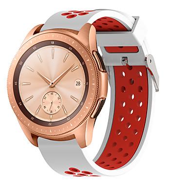 Недорогие Часы для Samsung-Спортивный ремешок для Samsung Galaxy Смотреть 42 мм / Gear S2 Classic / Gear Спорт / Galaxy Активный силиконовый замена браслет резиновый ремешок ремешок браслет ремешок для часов