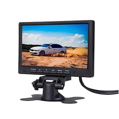 Недорогие Камеры заднего вида для авто-7-дюймовый автомобильный монитор 800 * 480 тфт цветной жк-экран автомобильная система парковки монитор для автомобиля задним ходом