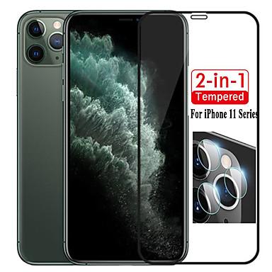 povoljno Zaštita zaslona za iPhone XS Max-2 u 1 objektiv zaštita zaslona fotoaparata za iphone 11/11 pro / 11 pro max / xs max / xr / xs / x / 8plus / 8 / 7plus / 7 / 6plus / 6