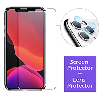 voordelige iPhone screenprotectors-glazen schermbeschermer en lensbeschermfolie voor iPhone 11/11 pro / 11 pro max / xs max / xr / xs / x / 8plus / 8 / 7plus / 7/6 plus / 6