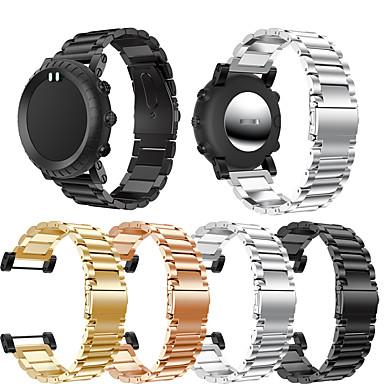 voordelige Smartwatch-accessoires-Horlogeband voor SUUNTO CORE Suunto Sieradenontwerp Roestvrij staal Polsband