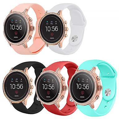 voordelige Kijk Bands voor Fossil-sport siliconen horlogeband polsband voor fossiele gen 4 q venture hr / gen 3 q venture armband vervangbare polsband