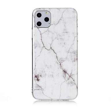 voordelige iPhone 5 hoesjes-hoesje Voor Apple iPhone 11 / iPhone 11 Pro / iPhone 11 Pro Max Ultradun / Patroon Achterkant Marmer TPU