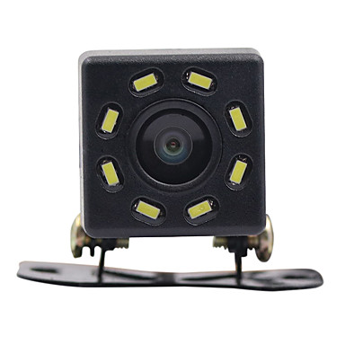 Недорогие Камеры заднего вида для авто-Вид сзади автомобиля ночного видения 8 светодиодные камеры заднего вида HD видео водонепроницаемый заднего хода парковочный монитор CCD 170 градусов широкоугольный