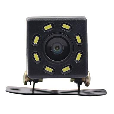voordelige Auto-achteruitkijkcamera-auto achteruitrijcamera nachtzicht 8 led achteruitrijcamera hd video waterdichte achteruitrijcamera parkeermonitor ccd 170 graden groothoek