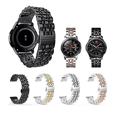 billige Telefontilbehør-for samsung galaxy watch 46mm / gear s3 / gear2 / gear2 neo / live rustfritt stål armbånd for armbånd