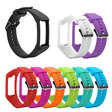 voordelige Watch band for Polar-smartwatch band voor polar a360 / a370 polar sportband mode zachte siliconen polsband