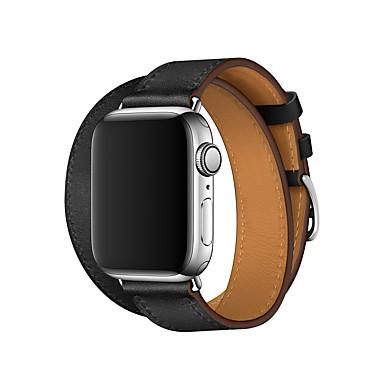 Pogledajte Band za Apple Watch Series 4/3/2/1 Apple Poslovni bend Prava koža Traka za ruku