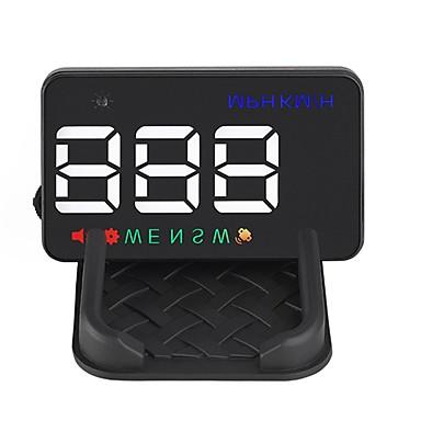 olcso HUD-head up kijelző automatikus hud gps sebességmérő digitális sebességmérő figyelmeztető szélvédő projetor automatikus navigáció