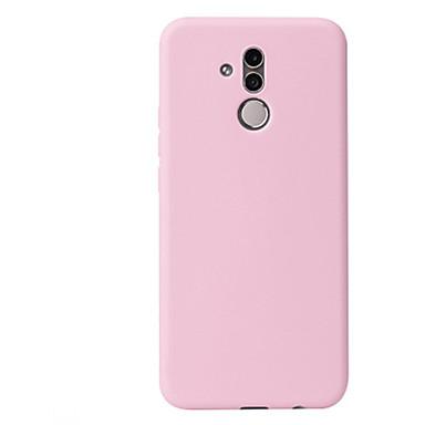 olcso Táblagép tokok-Case Kompatibilitás Huawei MediaPad Huawei Mate 20 pro / Huawei Mate 20 / Huawei Mate 7 Ütésálló / Ultra-vékeny / Jeges Fekete tok Egyszínű TPU