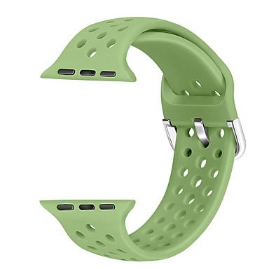 tanie Opaski do Apple Watch-3-pakowy pasek do zegarka z serii Apple Watch 5/4/3/2/1 Silikonowy pasek na nadgarstek Apple Classic