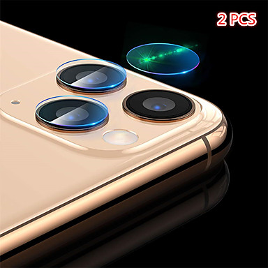 billige Skærmbeskyttelse til iPhone-2stk baglinsebeskytter hærdet glasfolie til iphone 11/11 pro / 11 pro max / xs max / xr / xs / x / 8plus / 8 / 7plus / 7 / 6plus / 6
