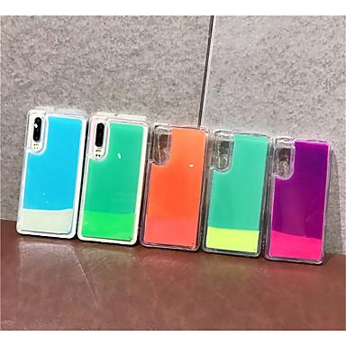 voordelige iPhone-hoesjes-hoesje Voor Apple iPhone XS / iPhone XR / iPhone XS Max Stromende vloeistof / Glitterglans Achterkant Effen TPU