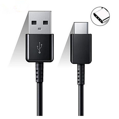 cheap Phone Cables & Adapters-Original Samsung 120/150CM USB Type C Cable Fast Charge Data Line for Galaxy S8 S9 Plus S10 Plus A5 A7 2017 Note 8 XIAOMI A3 5 6