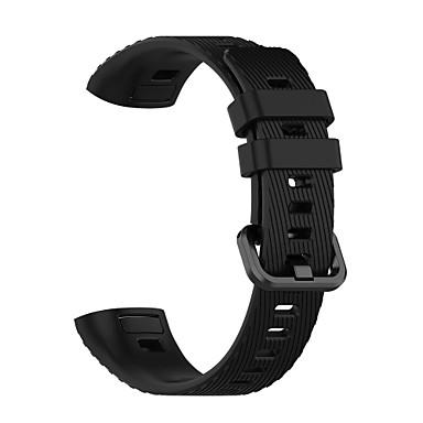 Недорогие Ремешки для часов Huawei-Ремешок для часов для Honor Band 3 / Huawei Band 3 Pro Huawei Спортивный ремешок силиконовый Повязка на запястье