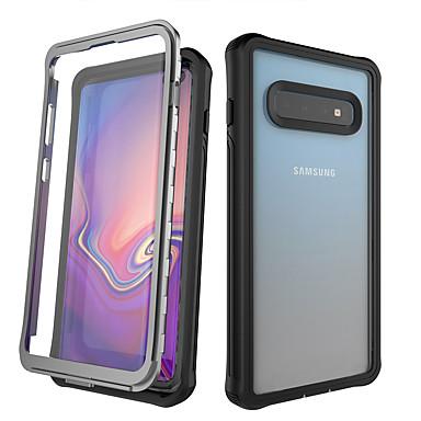 Недорогие Чехлы и кейсы для Galaxy S-Кейс для Назначение SSamsung Galaxy Galaxy S10 / Galaxy S10 Plus / Galaxy Note 10 Защита от удара / Защита от пыли / Защита от влаги Чехол Прозрачный ПК