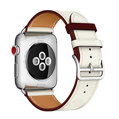 voordelige Smartwatch-accessoires-Horlogeband voor Apple Watch Series 5 / Apple Watch Series 4 / Apple Watch Series 4/3/2/1 Apple Leren lus Gewatteerd PU-leer Polsband