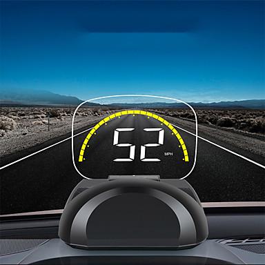 olcso HUD-c700s vezetékes autó head-up kijelző obd2 hibaelhárítási sebesség / vízhőmérséklet feszültség riasztás