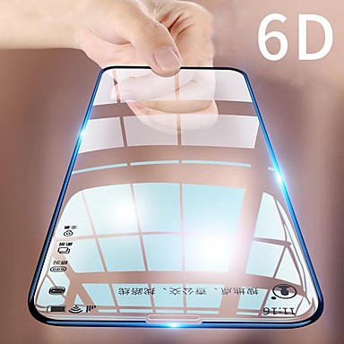 voordelige iPhone screenprotectors -Apple Screen Protectoriphone 11 3D gebogen voorkant front screen protector 1 stuk gehard glas