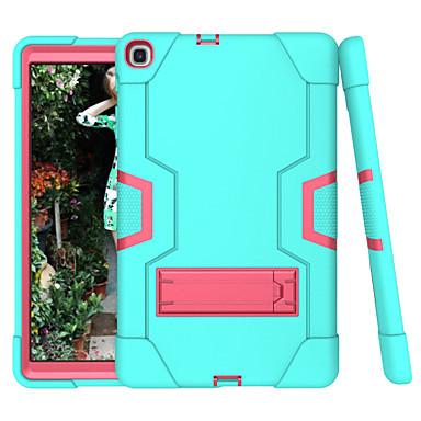 billiga Samsung Tablets Fodral-fodral Till Samsung-surfplattor Samsung Tab A 10.1 (2019) T510 Stötsäker / med stativ Skal Enfärgad TPU / PC