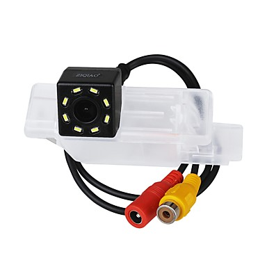 Недорогие Камеры заднего вида для авто-ziqiao водонепроницаемый датчик ccd проводной 170-градусная автомобильная камера заднего вида для vw polo v (6r) golf 6 vi passat cc magotan
