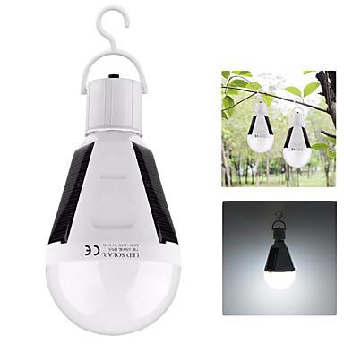 olcso Zseblámpák éslámpa túrázáshoz-12W Lámpások & Kempinglámpák LED napelemes világítás LED Sugárzók 1 világítás mód Hordozható Könnyű Kempingezés / Túrázás / Barlangászat Halászat Fehér