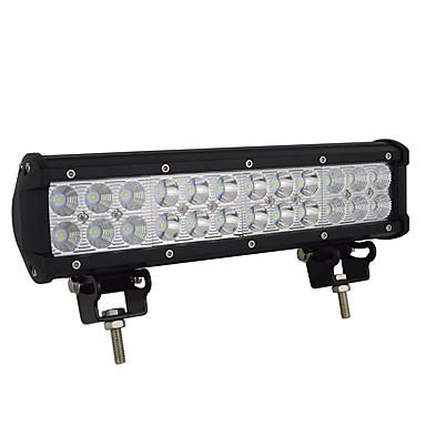 Недорогие Автомобильные фары-новый светодиодный светильник 72 Вт рабочий свет авто прожектор модифицированный потолочный светильник бар