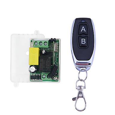 olcso smart Switch-ac 220v 1ch rf 433mhz vezeték nélküli távirányító kapcsolómodul 10a-es relé relé / a be b reteszelt munkamód