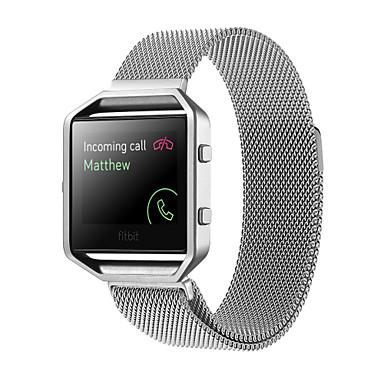 Недорогие Аксессуары для смарт-часов-Ремешок для часов для Fitbit Blaze Fitbit Миланский ремешок Нержавеющая сталь Повязка на запястье