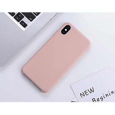 Недорогие Кейсы для iPhone 6 Plus-Кейс для Назначение Apple iPhone 11 / iPhone 11 Pro / iPhone 11 Pro Max Защита от удара / Ультратонкий Кейс на заднюю панель Плитка / Однотонный силикагель / Силикон