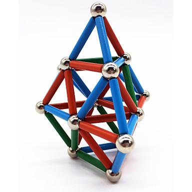 povoljno Ljubimci, Igračke i hobiji <<-63 pcs Magnetne igračke Magnetske kuglice Magnetski štapići Kocke za slaganje Snažni magneti Magnetska igračka Magnetska igračka Metalik S magnetom Stres i anksioznost reljef Uredske stolne igračke