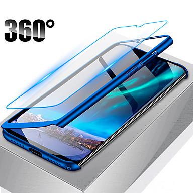 povoljno Maske/futrole za Huawei-360 potpuno zaštitna futrola za telefon za huawei p smart 2019 y7 2019 y6 pro 2019 y6 2019 y5 2018 honor 20 pro čast 20i tvrdi pc poklopac sa staklom
