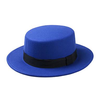 رخيصةأون اكسسوارات رجالية-كل الفصول أسود نبيذ فوشيا قبعة الدلو قبعة شمسية لون سادة رجالي نسائي قطن,رياضي Active أساسي لطيف