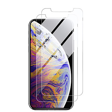 billige Skjermbeskytter til iPhone-applecreen protectoriphone 11 high definition (hd) front screen protector 2 stk herdet glass