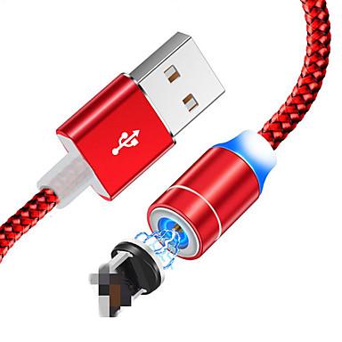 povoljno Kablovi i adaperi za mobitel-magnetski iphone kabel brzo punjenje iphonec tip kabela magnetni punjač podataka punjenje mikro iphone kabel mobilni telefon kabel iphone kabel