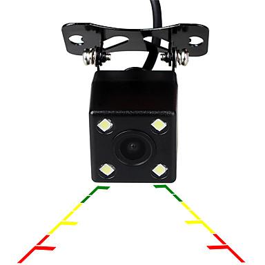 Недорогие Камеры заднего вида для авто-Ziqiao универсальный 4 светодиодный автомобиль ночного видения обратный мониторинг автоматическая парковка водонепроницаемый 170-градусный HD резервная видеокамера