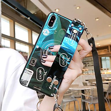 Недорогие Чехлы и кейсы для Galaxy S-Samsung для Galaxy S10E / S10 / S10 Plus Blu-Ray камеры S9 / S9 Plus с запястьями S8 / S8 Plus мультфильм S7 / S7 край четырехсторонний анти-капля чехол для мобильного телефона