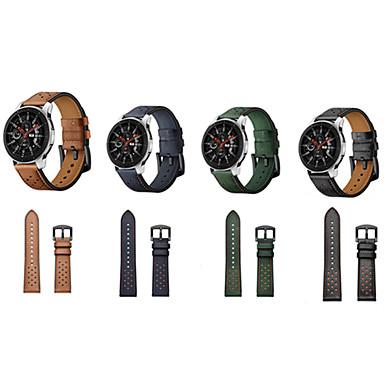 voordelige Horlogebandjes voor Ticwatch-horlogeband voor ticwatch pro / ticwatch s2 / ticwatch e2 business band lederen polsband