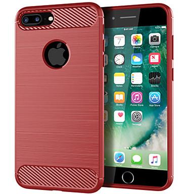 voordelige iPhone 6 Plus hoesjes-hoesje Voor Apple iPhone 11 Pro / iPhone 8 Plus / iPhone 7 Plus Schokbestendig / Ultradun / Mat Achterkant Lijnen / golven TPU