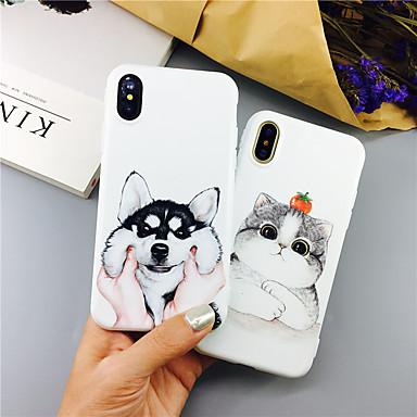 Недорогие Кейсы для iPhone 7 Plus-чехол для кошки / собаки с рисунком чехол для яблока iphone 11 pro max 8 плюс 7 плюс 6 плюс max задняя крышка