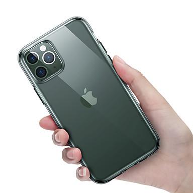 voordelige iPhone-hoesjes-hoesje Voor Apple iPhone 11 Pro / iPhone 11 Pro Max / iPhone XS Schokbestendig Achterkant Effen TPU