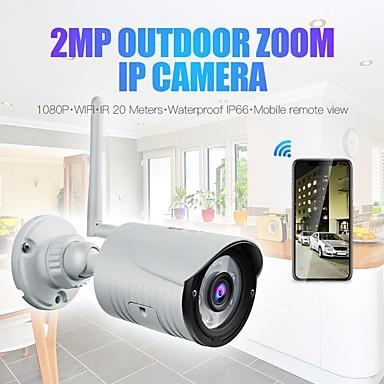 رخيصةأون كاميرات المراقبة IP-Wanscam k22 اللاسلكية 1080 وعاء 2mp كاميرا ip 3.6 ملليمتر عدسة 6 قطع المصابيح دعم 3x زوم رقمي (التكبير تصغير على التطبيق) للرؤية الليلية في الهواء الطلق ip66