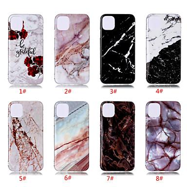 Недорогие Кейсы для iPhone-чехол для яблока iphone 11 / iphone 11 pro / iphone 11 pro max рисунок задняя крышка мрамор тпу