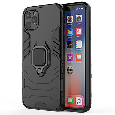 voordelige iPhone-hoesjes-hoesje Voor Apple iPhone 11 / iPhone 11 Pro / iPhone 11 Pro Max Schokbestendig / Patroon Achterkant Schild PC