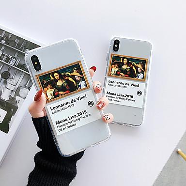 voordelige iPhone 6 hoesjes-hoesje voor Apple iPhone XS / iPhone XR / iPhone XS Max schokbestendig / Transparant / Patroon Achterkant Sexy Lady TPU voor iPhone X 8 8plus 7 7plus 6 6s 6plus 6splus