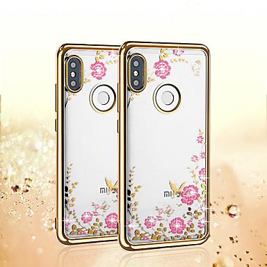 Недорогие Чехлы и кейсы для Xiaomi-блеск алмазный цветок бабочка чехол для xiaomi mi 9 se 9t pro redmi note 8 pro note 7 k20 pro mi 8 lite max 3 f1 play note 5 примечание 6 чехол для телефона роскошный кристально чистый мягкий
